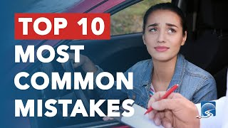 Top 10 Most Common Mistakes to Avoid on Your Driver's Test