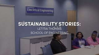 Letitia Thomas, Director of STEM Diversity Programs talks about the programs she leads that increase the amount of opportunities for students from underrepresented groups in the STEM field.