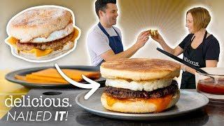 Can This Chef ReCreate McDonald's Sausage & Egg McMuffin Recipe?   delicious. Australia