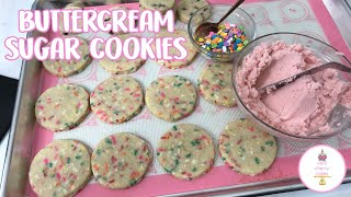 easy buttercream icing for sugar cookies