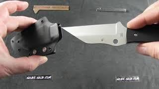 Spyderco Ronin2 Plain (FB09GP2) - відео 1