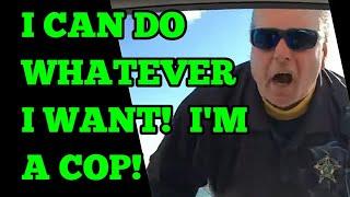 """I can do anything I wanna do, I'm a police officer"" ⚠ Tyrant Alert ⚠"