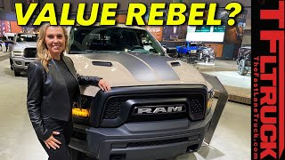 The 2019 Ram 1500 Classic Warlock Offers Rebel Looks For $8,000 Less!