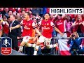 Ramsey Goal - FA Cup Final | Goals and Highlights.