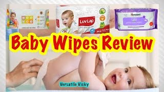 Baby Wipes Review | Himalaya Baby Wipes Review | MeeMee Baby Wipes Review | LuvLap Baby Wipes Review