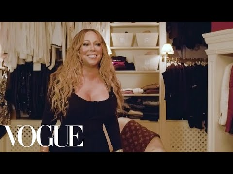 Mariah Carey: The Diva Takes Us Inside Her Closet | Vogue