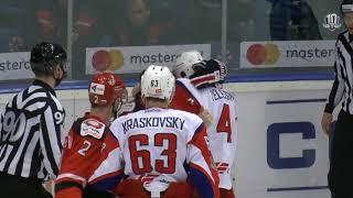 Бой КХЛ: Мишарин VS Елесин