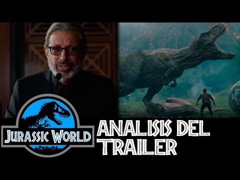 Análisis Trailer Jurassic World 2 - Fallen Kingdom