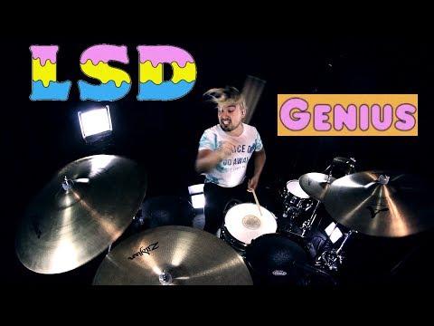 LSD - Genius ft. Sia, Diplo, Labrinth (Drum Remix)