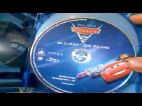 Carros 2 - Bluray  Review Super Set (Disney Pixar )