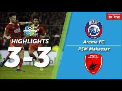 Arema FC vs PSM Makassar 3-3 All Goals & Highlights