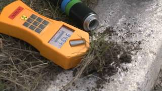 chernobyl 2012: finding a fragment of chernobyl's nuclear reactor fuel (in nature)