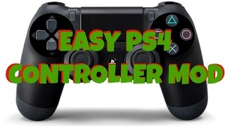 EASY PS4 Controller Mod (Illistration Only) DIY