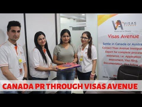 Canada Immigration's Review by Visas Avenue's Client