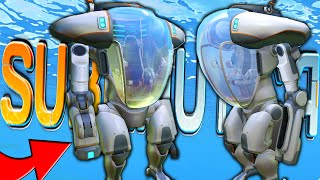 Subnautica - EXOSUIT GRAPPLE HOOK ARM UPDATE (Subnautica Early Access Gameplay)