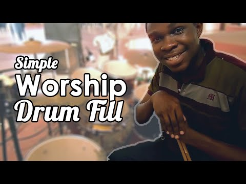 Drum Lesson - Simple Worship Fill (fast)    Jaystiqs