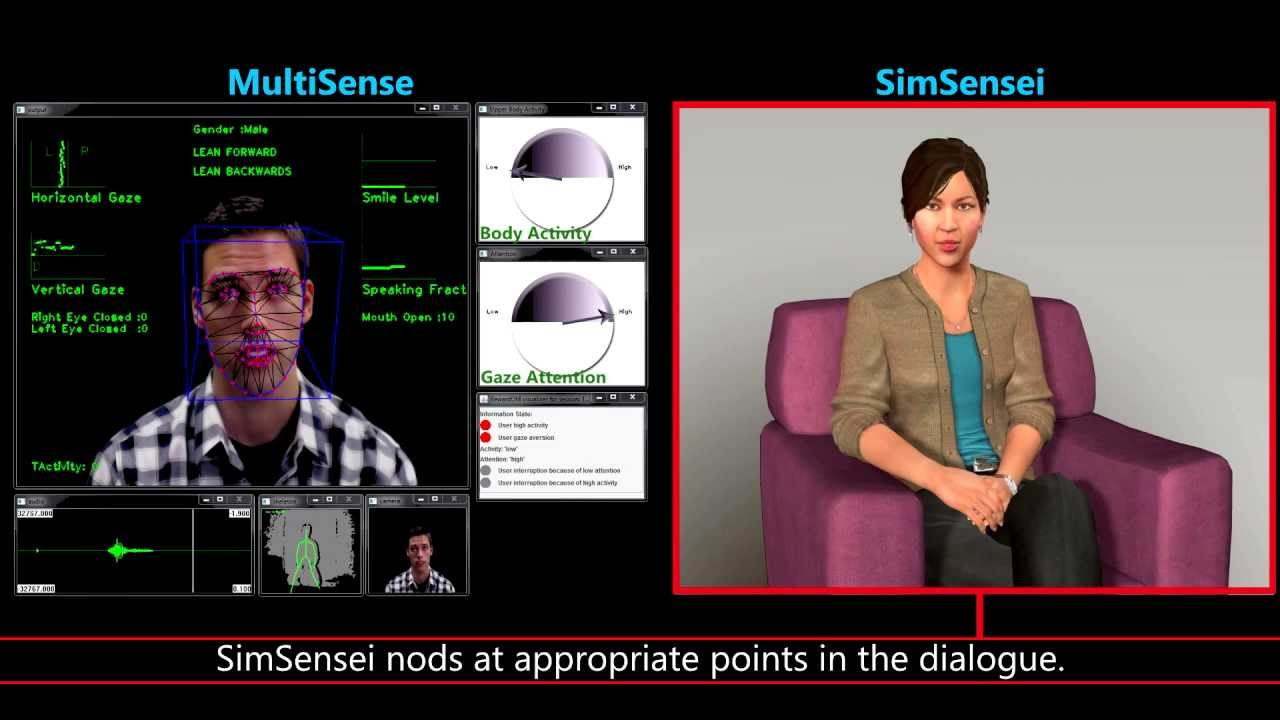 New Cyber Therapists Can Diagnose Depression Using Kinect