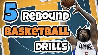 Top 5 Basketball Rebound Drills For Youth Grades 1-8