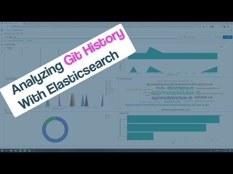 Check out the video showing the results of analyzing git history with Elasticsearch!