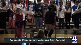 Columbia Elementary Veterans Day Concert - 11-8-18