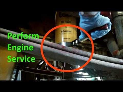 How to Change the Engine Oil and Filter on the Cat® Skid