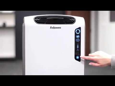 Como funcionan los purificadores de aire Fellowes Aeramax