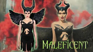 DIY MALEFICENT MISTRESS OF EVIL HALLOWEEN COSTUME || Lucykiins