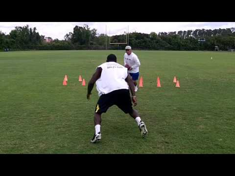 Stephon Green Football Training