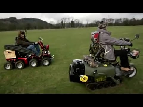Mobility Scooter Off Road | Top Gear | BBC