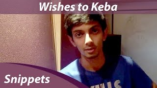 Anirudh wishes Keba Jeremiah on Demonte Colony | Orange Music