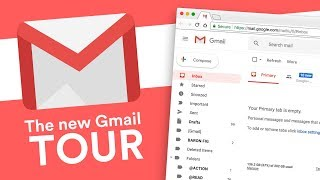 The new Gmail Tour: Re-design 2018