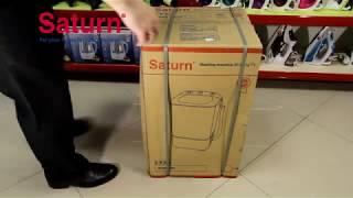 """Стиральная машина полуавтомат Saturn ST-WK1616 (на 2,5 кг) от компании Компания """"TECHNOVA"""" - видео"""