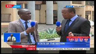 Opposition Mp's may result to abstain from Presidential state address so as not to disrupt it