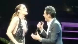 Jennifer Lopez And Marc Antoni (No Me Ames) Live