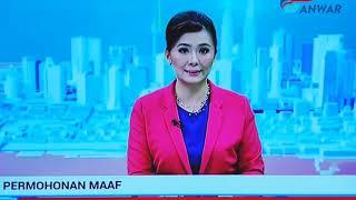 Permohonan Maaf TV3 kepada Anwar Ibrahim