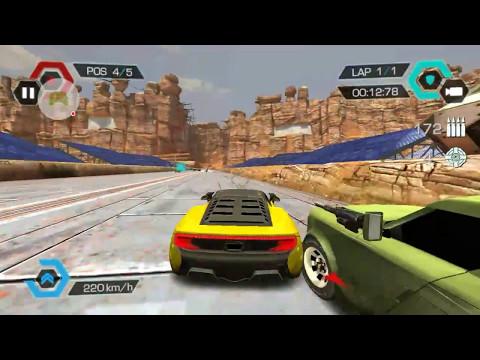 Most Addictive Cuberpunk Death Racing Games! Awesome Cars, Guns & Great Graphics!