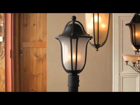 Video for Bolla Olde Bronze Three Light Foyer Semi Flush