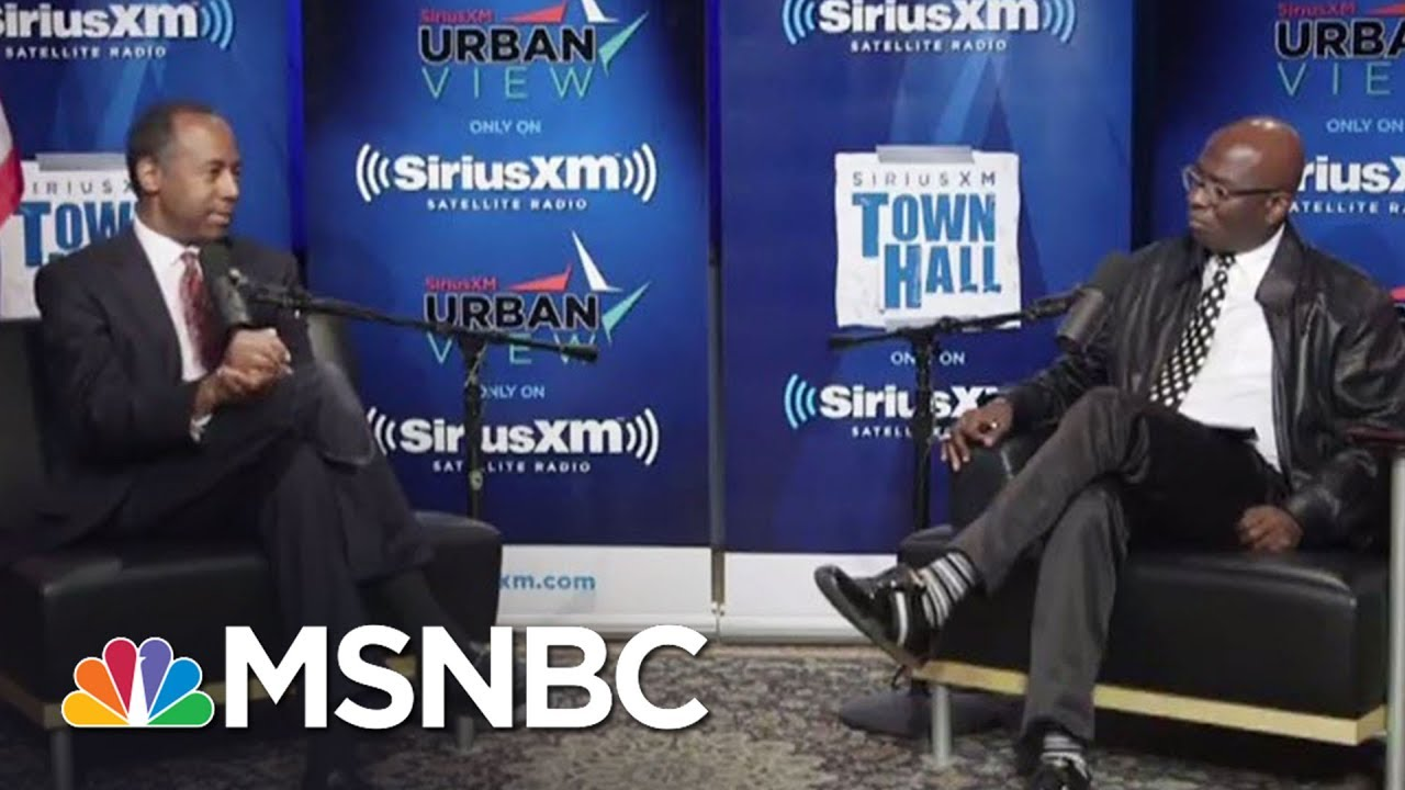 Ben Carson: Poverty Is A 'State Of Mind' | Hardball | MSNBC thumbnail