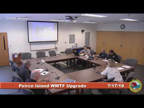 Peirce Island Waste Water Treatment Facility Upgrade 7.17.2019