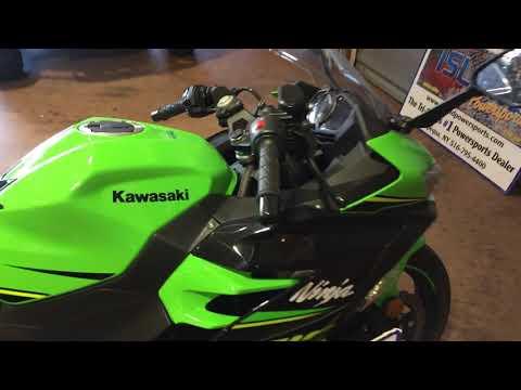 2018 Kawasaki Ninja 400 KRT Edition in Massapequa, New York
