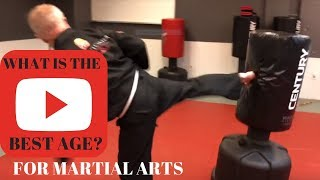 Best age to start martial arts