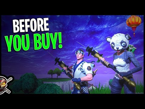 P.A.N.D.A Team Leader | Sushi Master | Filet Axe | Flying Fish – Before You Buy – Fortnite