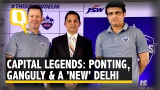 A Decade On, Another 'Coming Together' of Ponting & Ganguly | The Quint