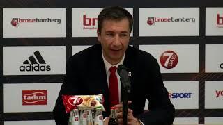 pressekonferenz brose bamberg vs. anadolu efes istanbul 88 79