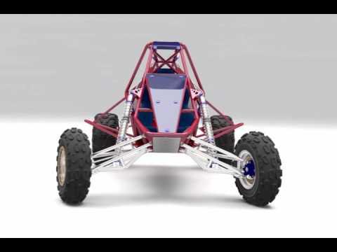 Sand buggy (barracuda) 750 cc part 1 - смотреть онлайн на