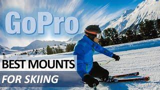 The BEST GoPro Mounts for Skiing - Hero9, Hero8, Hero7   DJI Osmo Action