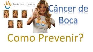 Câncer de Boca: como evitar?