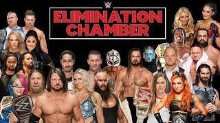 WWE Elimination Chamber 2019 Leaked Match Card Results Predictions