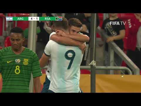 e29e14f042c MATCH HIGHLIGHTS - Argentina v South Africa - FIFA U-20 World Cup Poland  2019