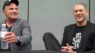 Prison Break - Wentworth Miller, Dominic Purcell Interview (WonderCon 2017)